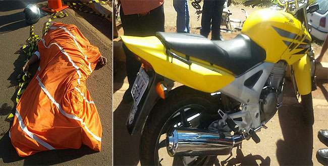 Motociclista morre após ser atingido por carro na BR-060