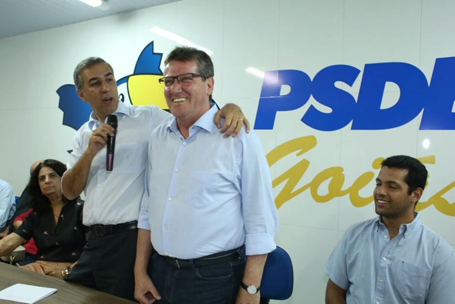 Giuseppe Vecci assume a presidência do PSDB em Goiás
