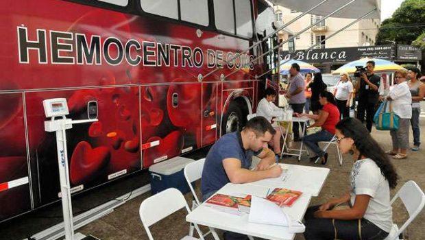 Hemocentro divulga locais de coleta da unidade móvel