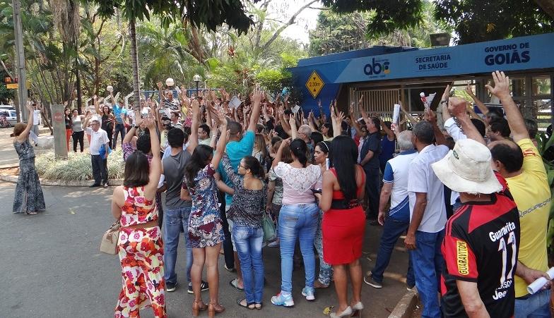 Servidores estaduais da Saúde anunciam greve geral