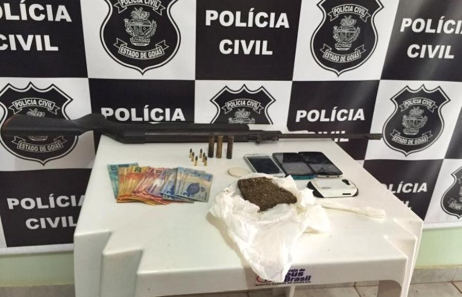 Operação prende 5 e cumpre 19 mandados por tráfico de drogas no Sul Goiano