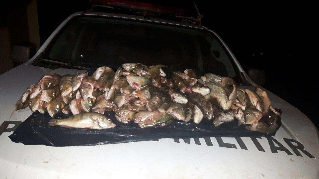Homem é preso em Araguapaz transportando 20 quilos de pescado ilegal