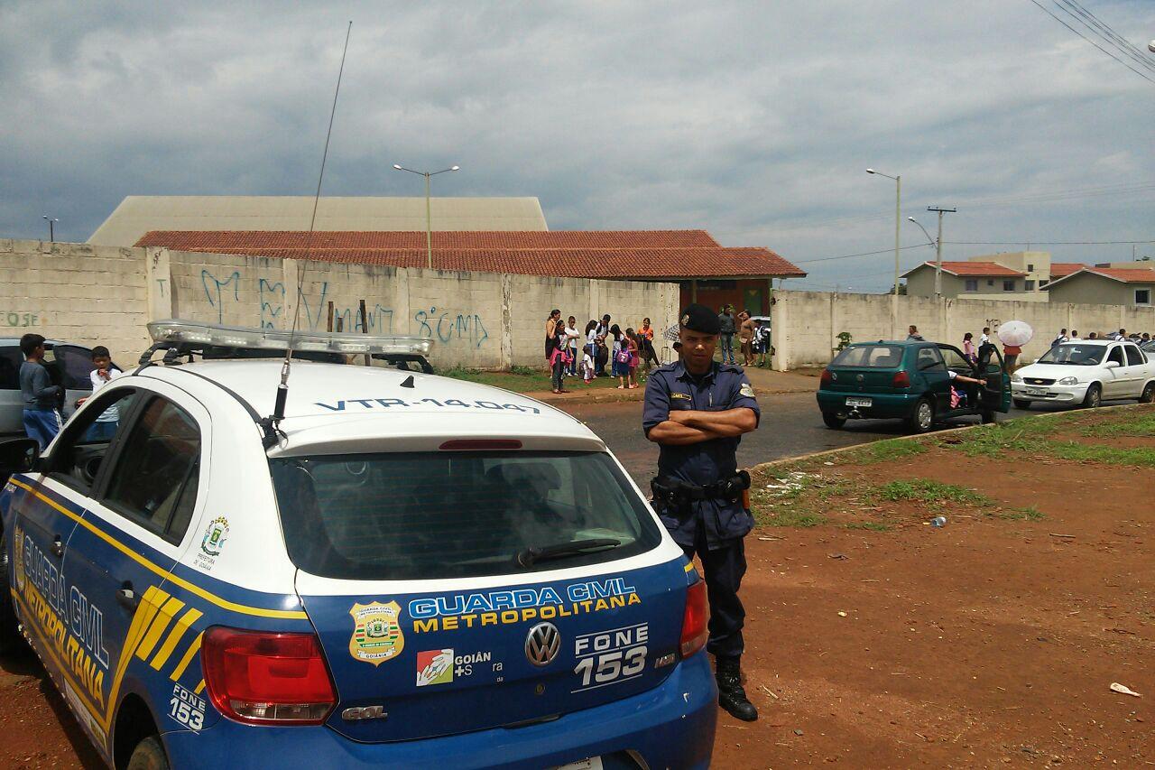 Programa da Guarda Civil Metropolitana recuperou 38 veículos em dois meses, em Goiânia