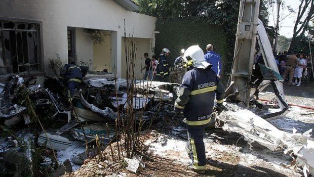 Terceira vítima de queda de avião em Curitiba morre no hospital