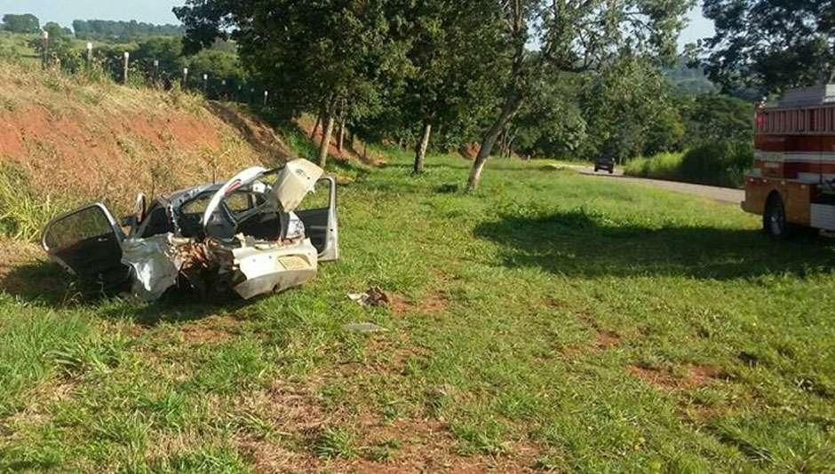 Homem tem cabeça arrancada do corpo em acidente de carro na GO-222