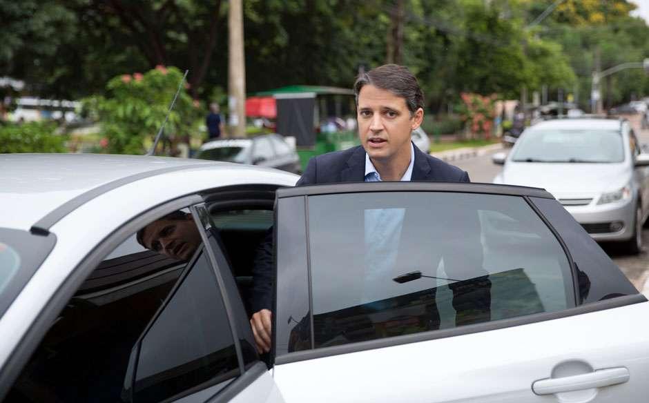 Thiago Peixoto é o primeiro passageiro da Uber em Goiânia