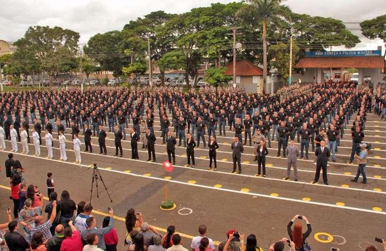 Polícia Militar recebe o reforço de 742 recém-incorporados