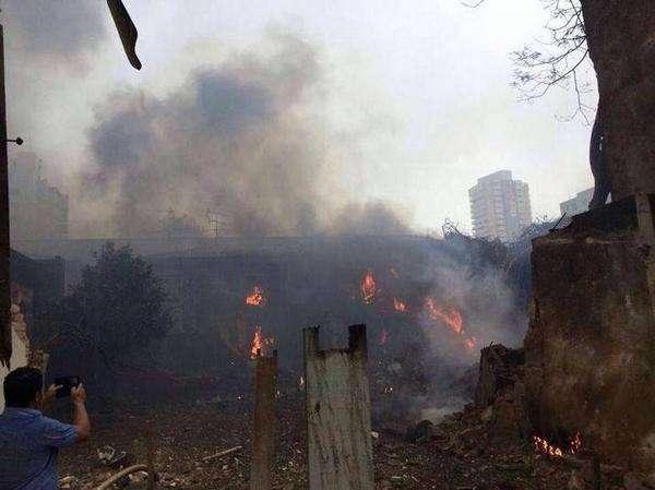Aeronave que caiu em Santos era um jato, diz FAB