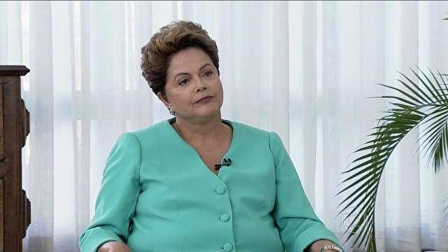 Dilma diz que não usa tática do medo contra Marina