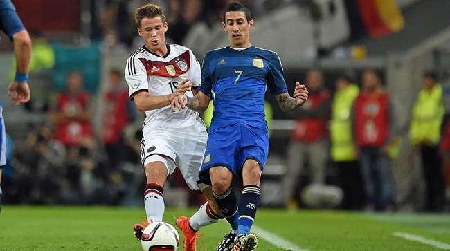 Di Maria brilha e Argentina dá o troco na Alemanha