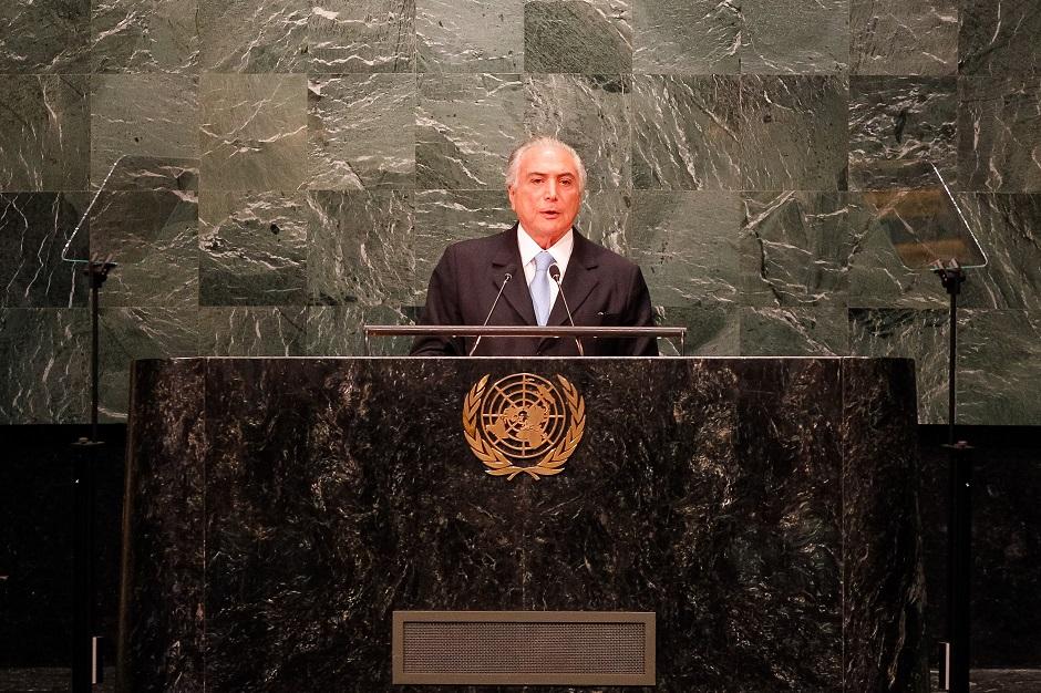 Temer viaja a Nova York para jantar com Trump e discursa na ONU