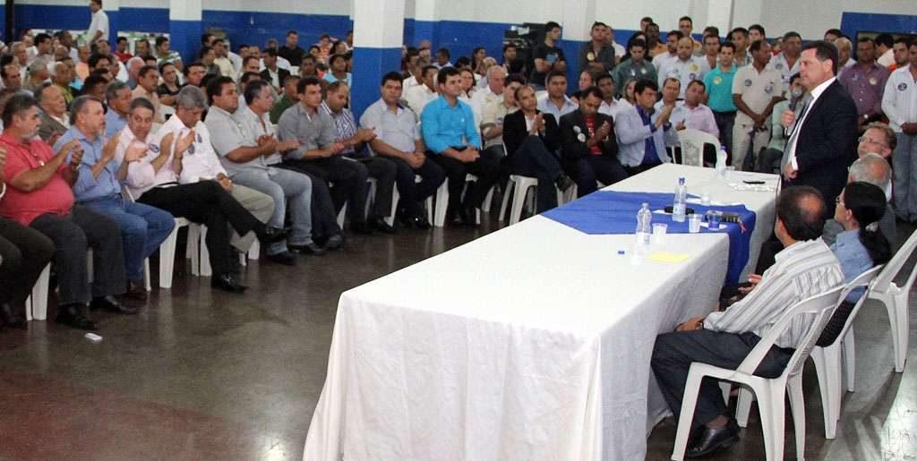 Marconi se reúne com 150 pastores em Anápolis