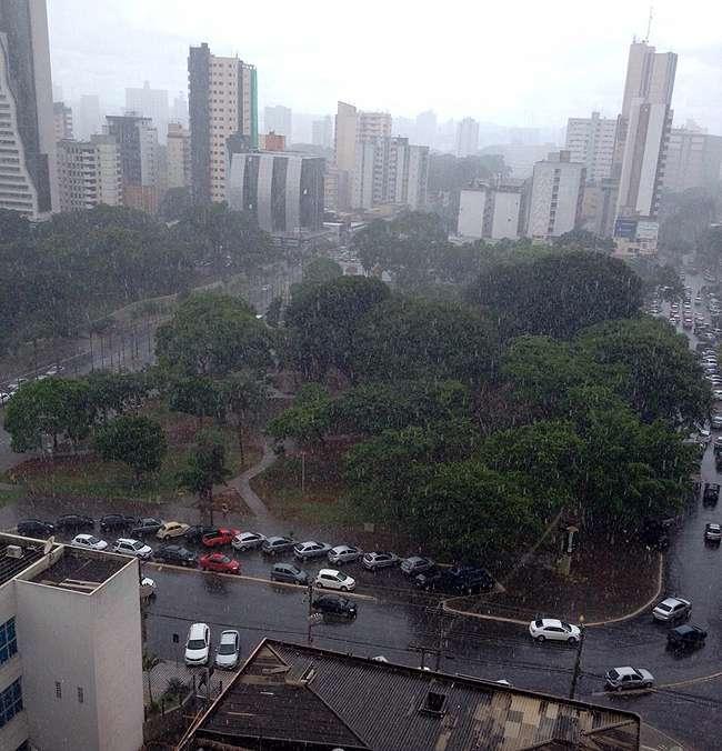 Previsão de chuva na manhã desta sexta-feira