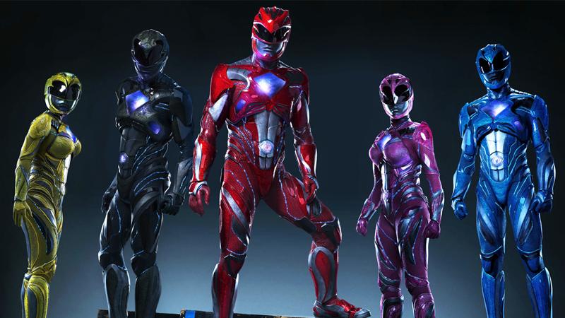 Revelada primeira imagem da armadura dos Power Rangers