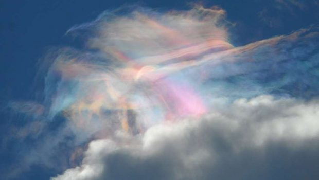 Leitora registra fenômeno no céu de Goiânia