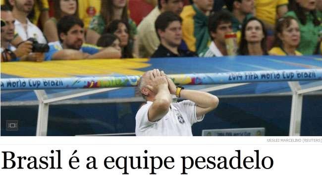 Imprensa estrangeira vê 'futebol ultrapassado' do Brasil