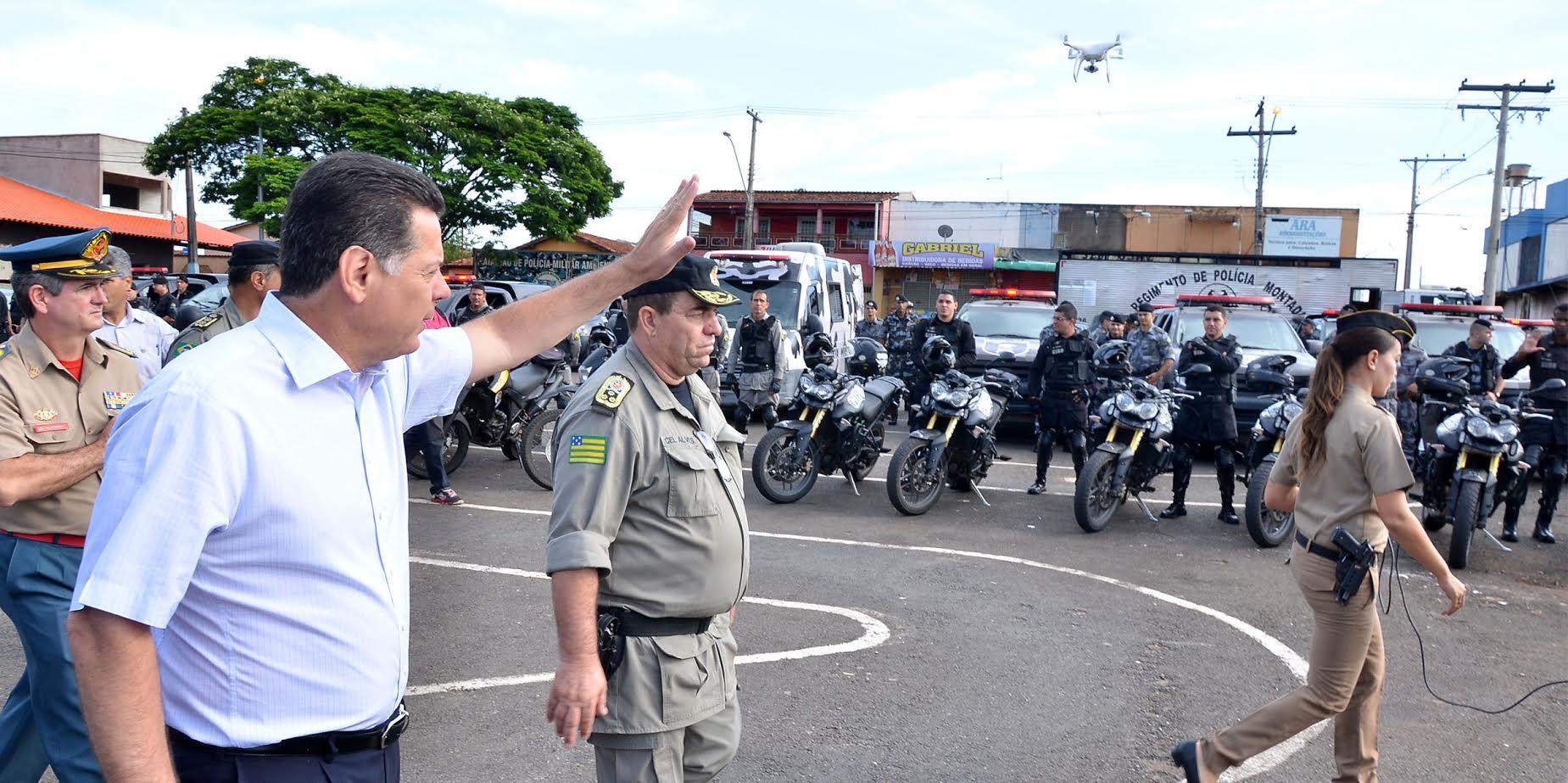 """Marconi: """"Vamos mobilizar as comunidades pela Segurança Pública"""""""