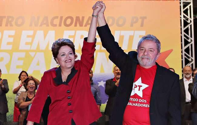 Para Lula e Dilma, imprensa de MG é 'dócil' com Aécio