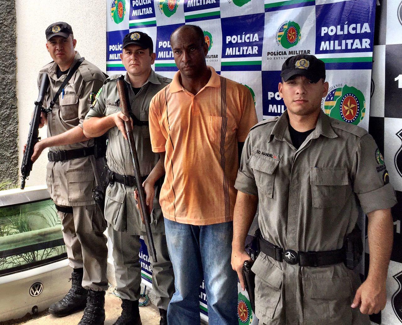 Condenado por homicídio é preso no Residencial Santa Fé, em Goiânia