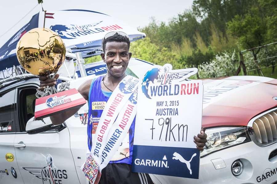 Etíope Lemawork Ketema vence maior corrida de rua do mundo