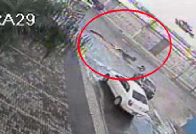 Motociclista fica ferido após cair em buraco em rua de Goiânia