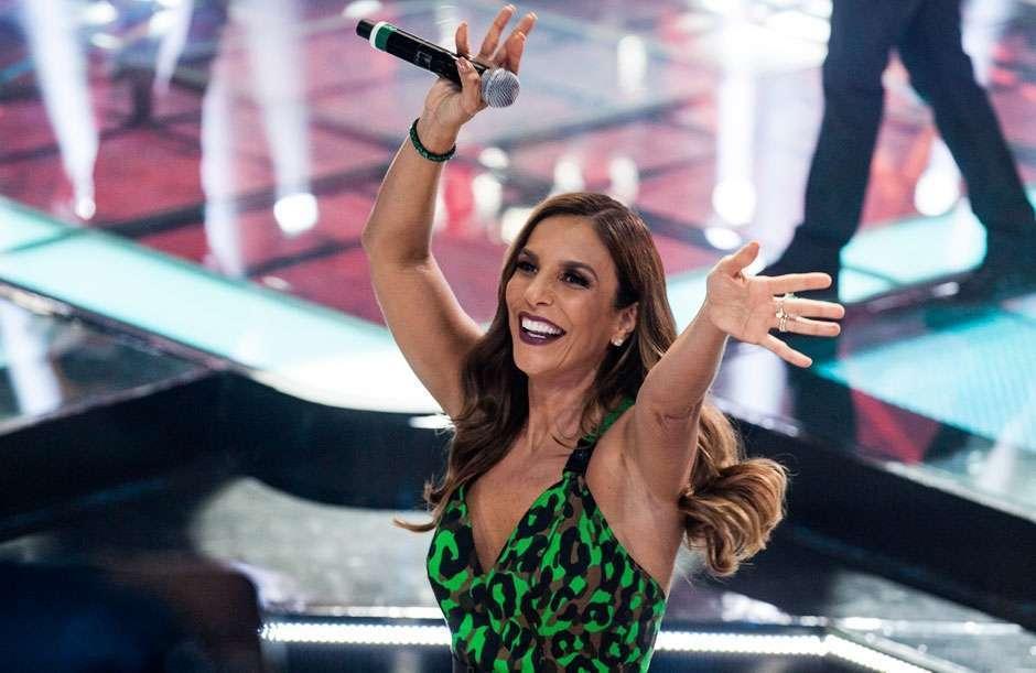 Ivete Sangalo é a grande estrela que vai cantar na final do BBB junto com Safadão e Ludmilla