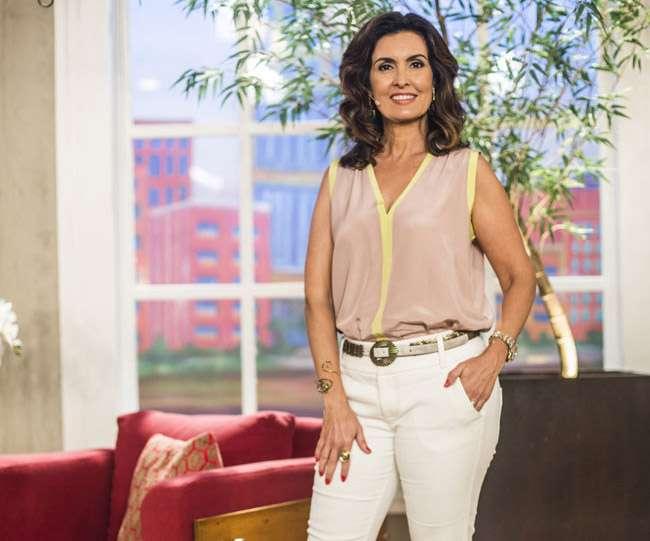 'Eu vou às Lojas Americanas', disse Fátima Bernardes, que assegura ter uma vida normal