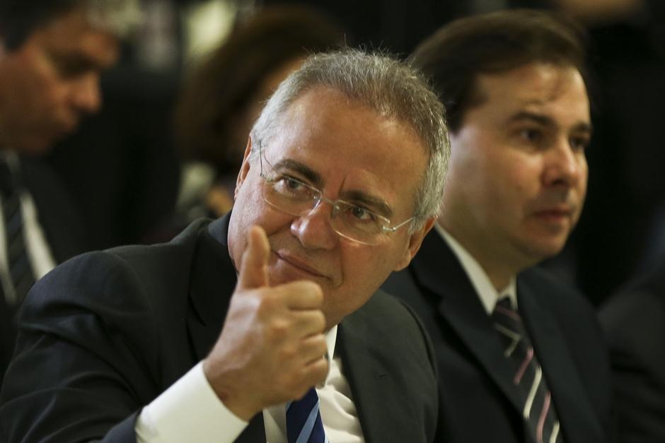 Renan Calheiros é escolhido como candidato do MDB à presidência do Senado