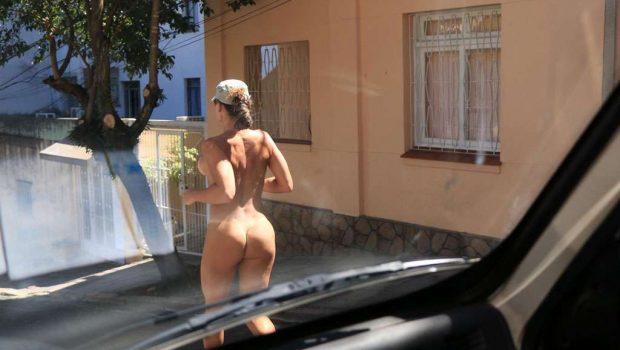Em novo caso de nudez,  mulher corre pelada pelas ruas de Porto Alegre