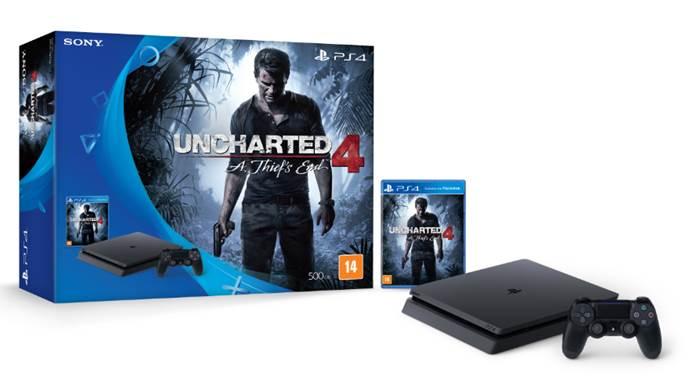 PS4 Slim vai ser lançado no Brasil no dia 16