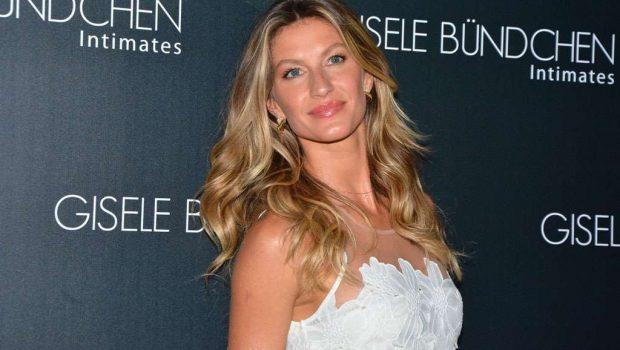 Gisele Bündchen lança coleção de verão de lingerie em SP