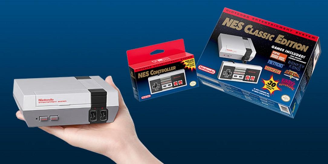 Nintendo Mini lançado nos EUA esgota em um dia