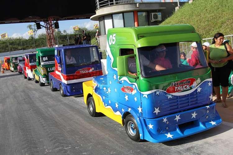 Fórmula Truck Kids será nesta quarta-feira no CCON