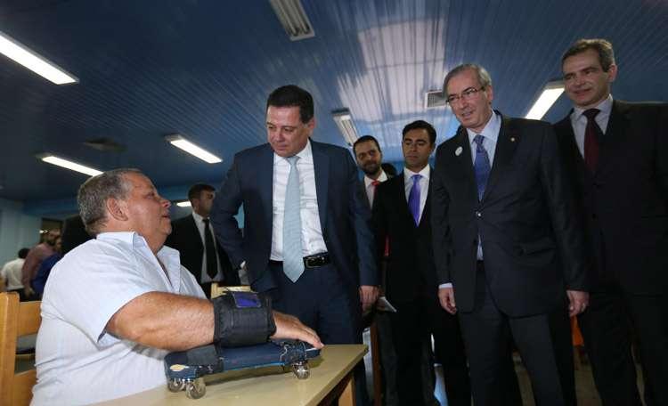 Marconi apresenta o CRER a Eduardo Cunha e recebe elogios pelo excelente padrão