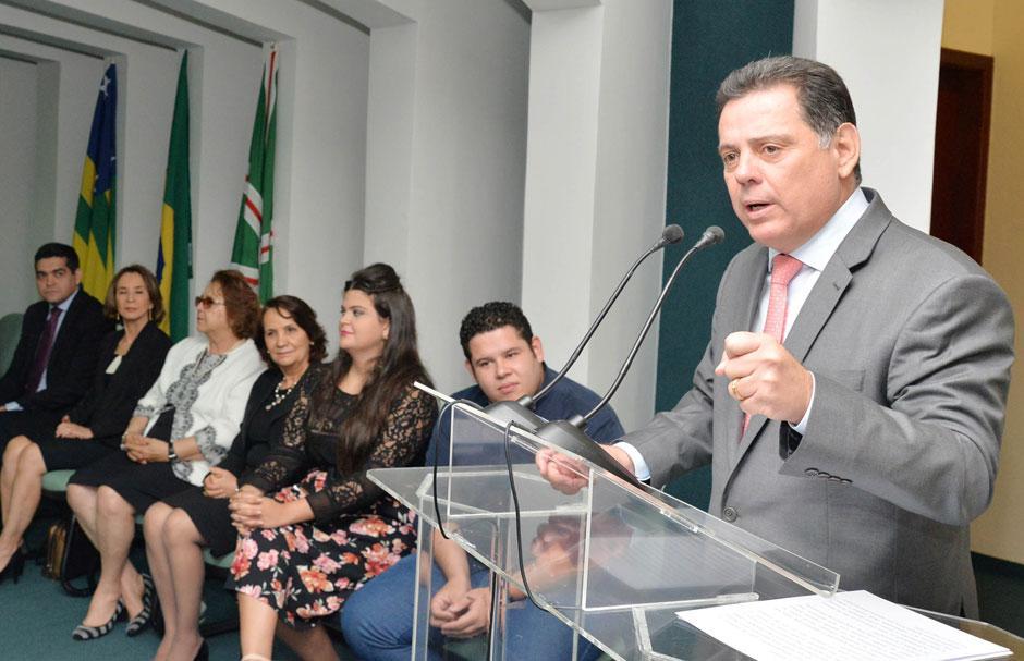 Marconi dá posse à nova diretoria do Conselho Estadual da Juventude