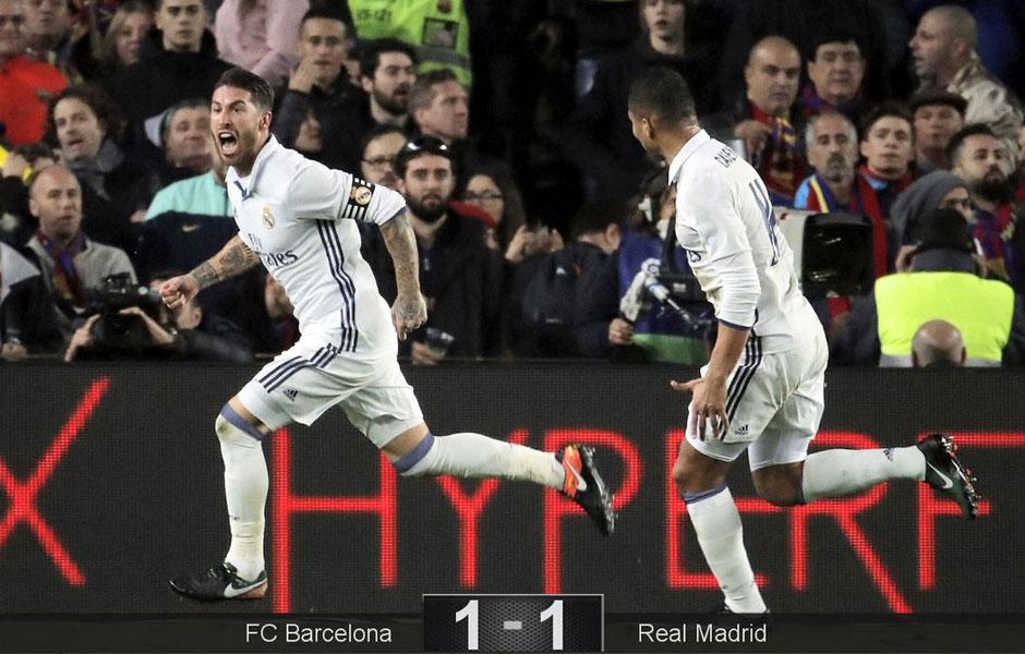 Após homenagem à Chapecoense, Real empata com Barça no fim e amplia série invicta