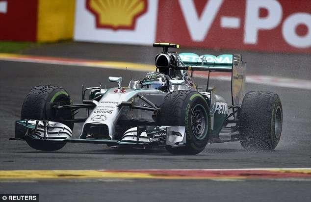 Rosberg fatura 7ª pole do ano e Massa larga em 9º