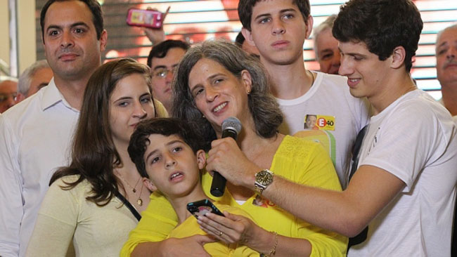 'Teremos a sua coragem para mudar o Brasil', diz viúva de Campos