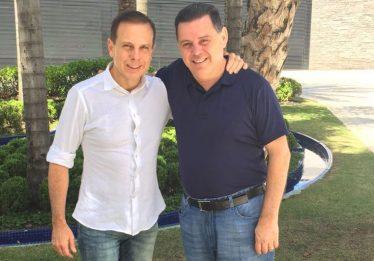 Doria dá 'apoio total' a Marconi Perillo para presidir PSDB