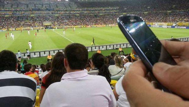 Em 12 jogos da copa, torcedores enviaram 7 milhões de fotos