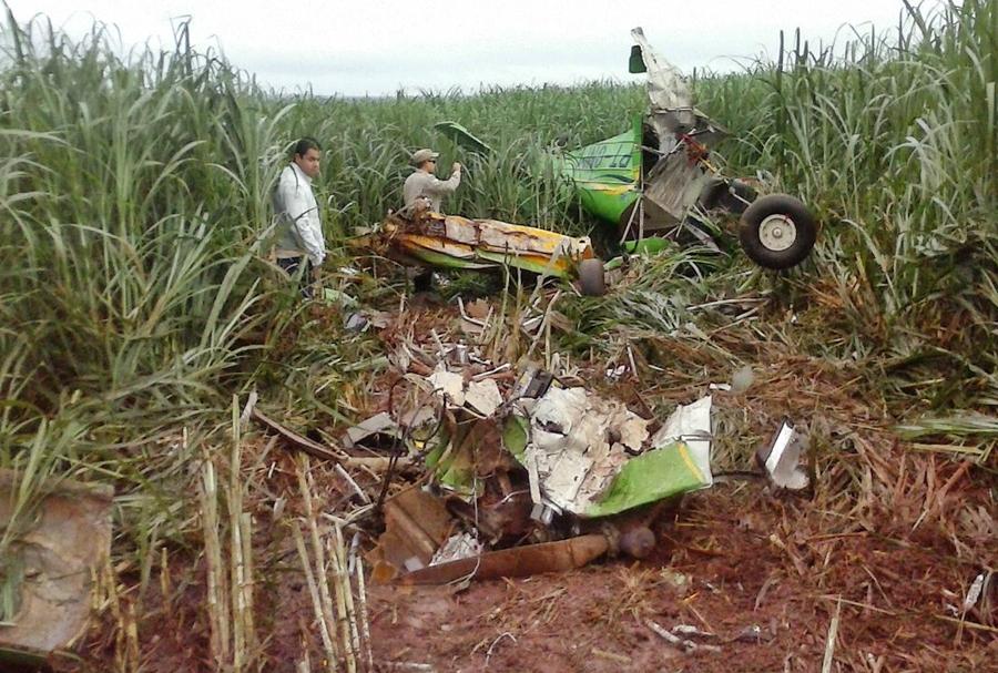 Corpo de piloto morto em queda de avião em Santa Helena é identificado