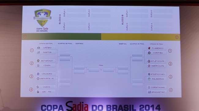 Copa do Brasil define oitavas sem clássicos regionais