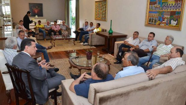 Peemedebistas de Pirenópolis anunciam apoio a Marconi