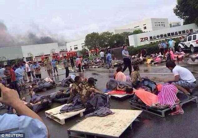 Explosão em fábrica no leste da China deixa 68 mortos