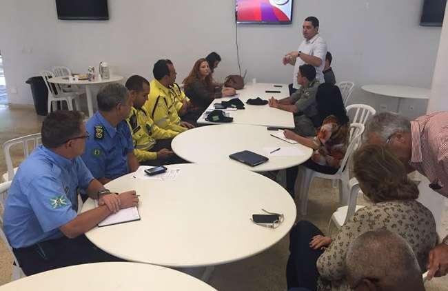 Reunião técnica discute detalhes da passagem da Tocha Olímpica por Goiânia