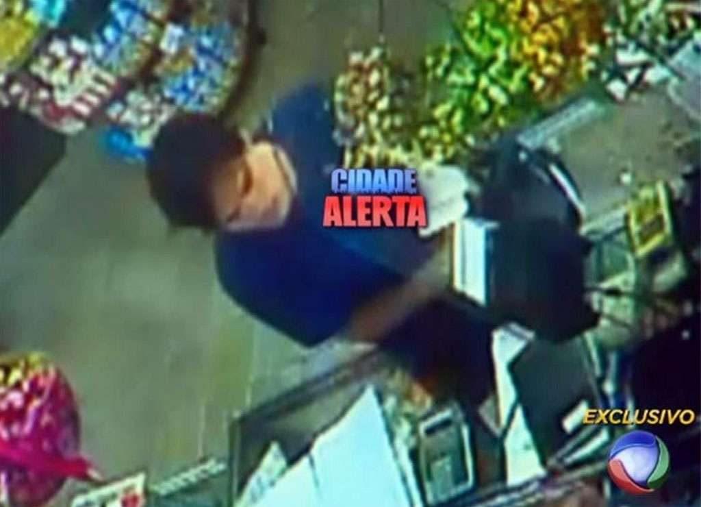 Polícia divulga imagem de suspeito de matar a jovem Ana Lídia