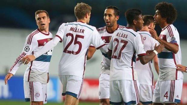 Bayern vence e segue 100% na Liga dos Campeões