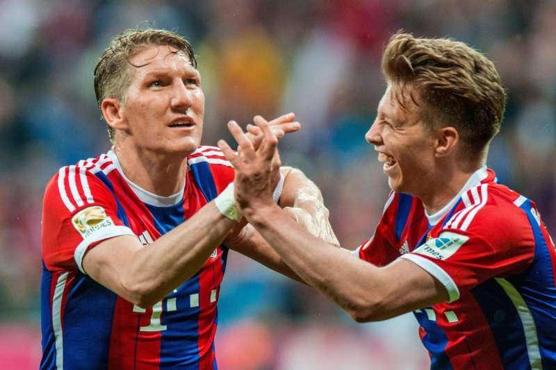 Bayern garante o título do Alemão e volta a ser tri após 14 anos
