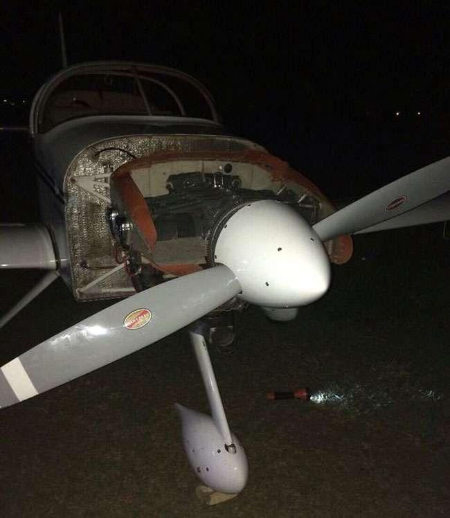 Empresário morre ao ser atingido por hélice de avião, em Anápolis