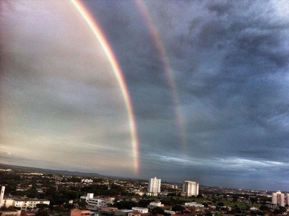 Pode chover neste fim de semana em Goiânia